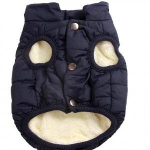 Abrigo para perro JoyDaog con forro polar