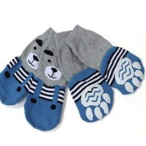 Calcetines para perros de algodón Meioro