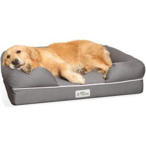 Cama para perros viscoelástica